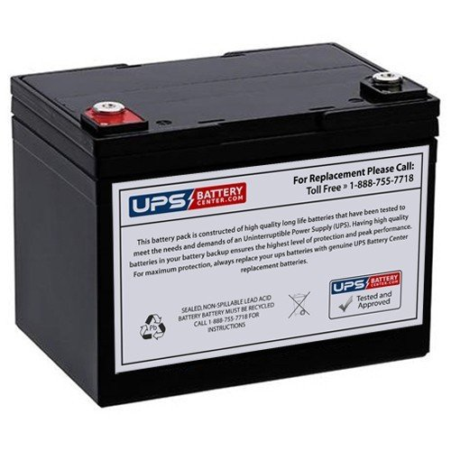 12V 35AH Battery Replacement for GOAL ZERO YETI 400 SOLAR GENERATOR from UPS Battery Center