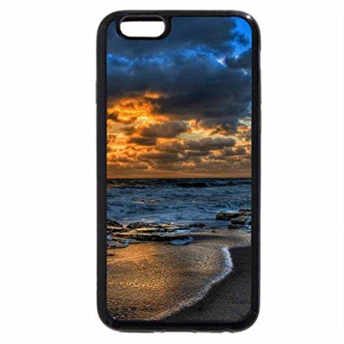 iPhone 6S / iPhone 6 Case (Black) Ocean Waves