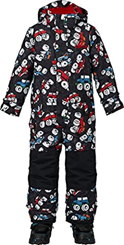 Burton Boys Minishred Striker One Piece Jacket, Offroad, 4T - Expandable Dj System