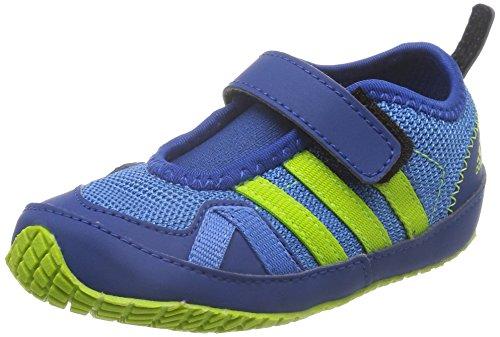 adidas Boat Ac I, Zapatos (1-10 Meses) Unisex Bebé Azul / Verde (Supazu / Seliso / Eqtazu)