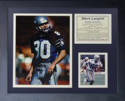 "Legends Never Die ""Steve Largent"" Framed Photo Collage, 11 x 14-Inch"