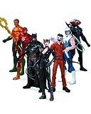 DC Collectibles Comics The New 52: Super Heroes vs. Super Villains Action Figure, 7-Pack
