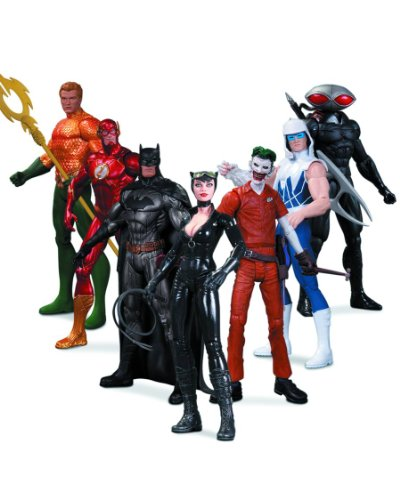 DC Collectibles Comics The New 52: Super Heroes vs. Super Villains Action Figure, 7-Pack for $<!--$115.00-->