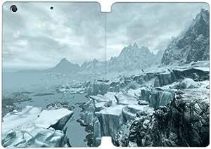 Cubierta de cuero y caja de la PC funda / soporte para funda de Apple iPad Mini 1,2,3 funda Con Magnetic reposo automático Función de despertador DIY por The Elder Scrolls V Skyrim M8Q5Vt1O0Oc