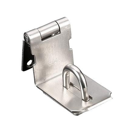 FUJIE Heavy Padlock Hasp 90 Degree Right Angle Door Clasp Door Latch Door Lock
