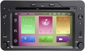 "BOOYES for Alfa Romeo Spider Brera 159 Sportwagon Android 10.0 Octa Core 4GB RAM 64GB ROM 6.2"" Car DVD Player Multimedia GPS System Auto Radio Stereo 1 Din Support Car Auto Play/TPMS/OBD/4G WiFi/DAB"