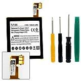 Tablet Battery Compatible with Amazon Kindle 4 Tablet Battery TLP-005 Li-Pol Battery - Rechargable Ultra High Capacity (Li-Pol 3.7V 890 mAh)