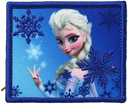 Insignia Elsa, la reina de las nieves, termoadhesivo para coser o ...