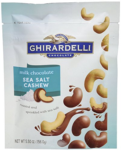 Ghirardelli Chocolate Covered Cashew 5 5oz