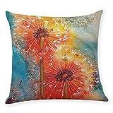 Iuhan Throw Pillow Case Cushion Cover, Home Decor Cushion Cover Beautiful Dandelion Throw Pillowcase Pillow Covers 18'' x 18'' 45cm x 45cm (A)