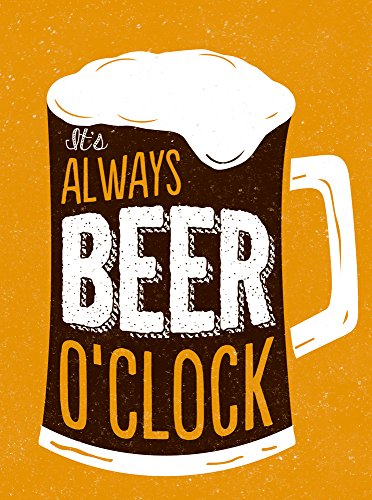 It's Always Beer O'Clock (Esme) by Summersdale