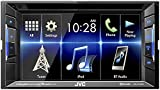 JVC KW-V130BT Double DIN Bluetooth In-Dash DVD/CD/AM/FM Car Stereo With 6.2'' Clear Resistive Touchscreen
