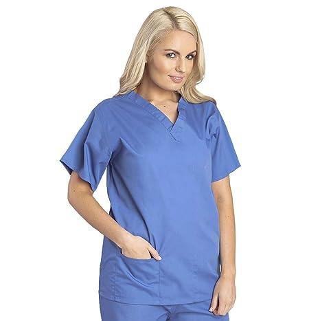 Budget Scrubs - Camisa uniforme medico Unisex: Amazon.es: Ropa y accesorios