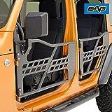 EAG Safari Tubular Door with Side View Mirror for 2018-2019 Jeep Wrangler JL 4 Door Only