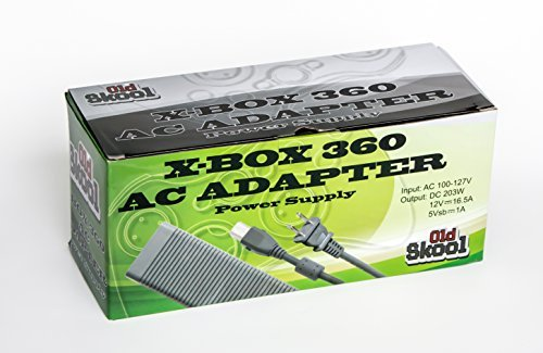 Old Skool AC Adapter Power Supply Cord for Xbox 360 for sale  Delivered anywhere in USA