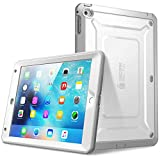 SUPCASE iPad Mini 4 Case, Heavy Duty[Unicorn Beetle Pro Series] Full-Body Rugged Protective Case with Built-in Screen Protector & Dual Layer Design for ipad Mini 4 2015/2018 (White/Gray)