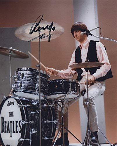 - RINGO STARR SIGNED AUTOGRAPHED COLOR 8x10 PHOTO BAS BECKETT THE BEATLES FAB 4 - Beckett Authentication