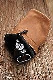 Genuine Leather Mini Small Camera Soft Bag Cover
