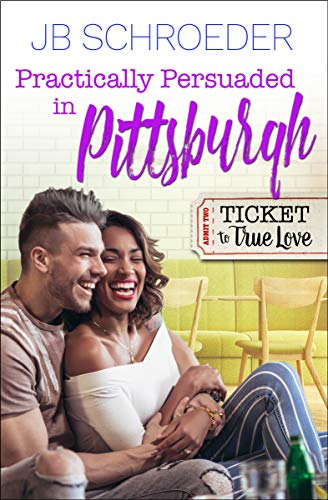A practical proposal, a fake wedding, an expiration date, and some serious obstacles just might end with a happily ever after…       In the novella Practically Persuaded in Pittsburgh, big city trader Jake Walker returns to the Strip District...