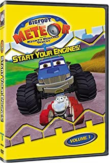 Amazon Com Meteor The Mighty Monster Trucks Vol Meteor