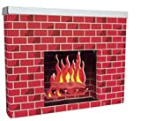 fireplace cardboard - Pacon PAC53080 Corobuff Cardboard Fireplace Decoration