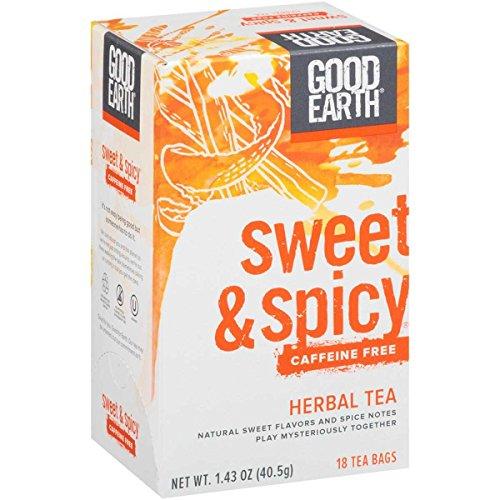 Good Earth Sweet Caffeine Herbal
