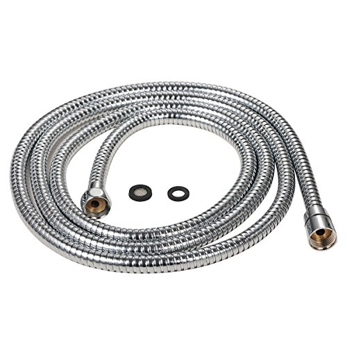 purelux-100-inch-extra-long-double-lock-stainless-steel-replacement-shower-hose-with-brass-fittings-