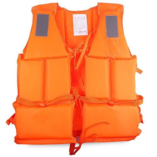 MeanHoo Adult Foam Swimming Buoyancy Aid Sailing Kayak Life Jacket Vest + Whistle OrangeAdult Foam Swimming Buoyancy Aid Sailing Kayak Life Jacket Vest + Whistle