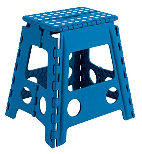 Arregui TB-039-A Taburete Plegable de 39 cm de altura, azul, 390x290x220