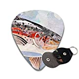 Collage Of Fish Celluloid Guitar Picks 6 Pack Includes Thin, Medium & Heavy
