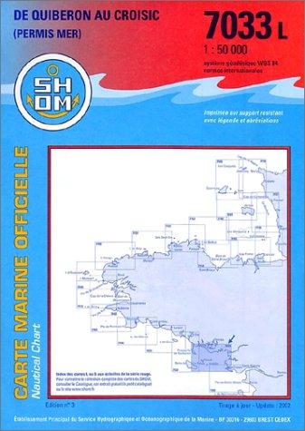 Carte marine : De Quiberon au Croisic Carte – 12 décembre 2002 Cartes Epshom B00008OKDI Cartes marines Bretagne