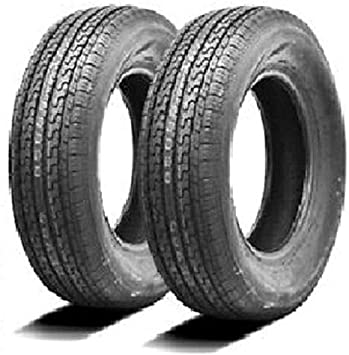 2 tire bundle Ultra CRT 205 75 14 Trailer Tires and Trailer Tire and Rim 204 75 R14 no rim ST205//75R14 Formerly Carlisle Carlstar Load Range C