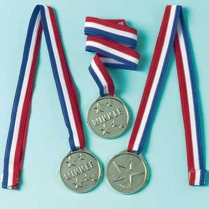 Factory Card and Party Outlet Award Medal Ribbons