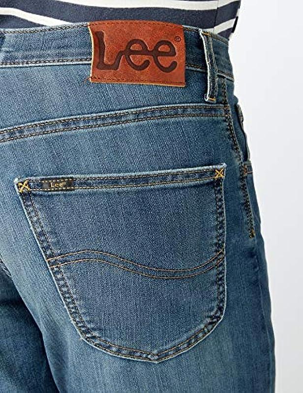 Lee Brooklyn Straight Jeans męskie: Odzież
