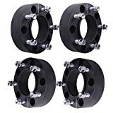 4 Pcs 5x150 Black fit Toyota Tundra Sequoia Hub Centirc 2 inches Wheel Spacers