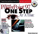 Microsoft PowerPoint 97, Marilyn G. Kyd, 0764532774