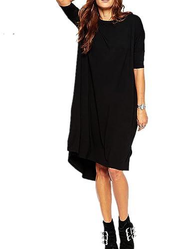 Haola Women's Loose T Shirt Dress Home Short Shirts Mini Dresses Tops
