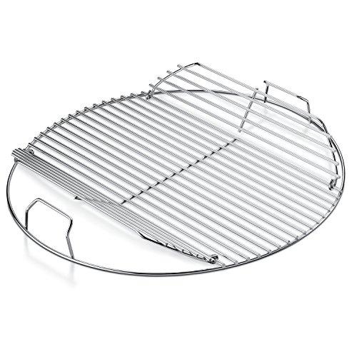 Rejilla de cocina con bisagras de reemplazo Weber, 22 pulgadas