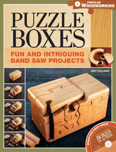 Amazon Com Puzzle Boxes Fun And Intriguing Bandsaw Projects
