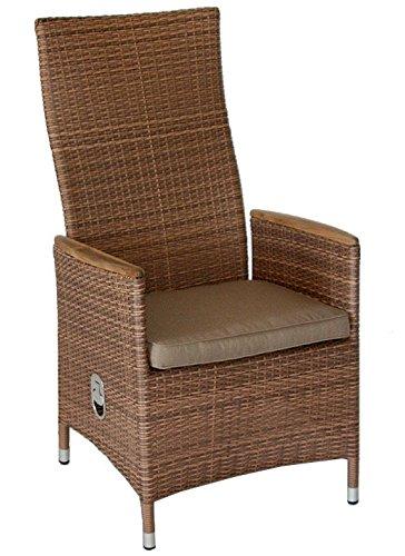 6 de jardín de sillas de