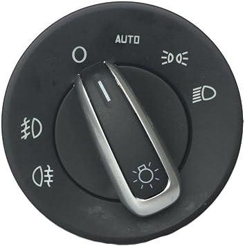Reinigen Motion 1z0941431 K Für Skoda Octavia Ii 04 13 Nebel Licht Scheinwerfer Schalter Auto Chrom 1z0 941 431 K 1z0 941 431 K Auto