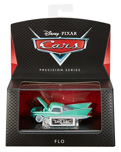 - Disney Pixar Cars Precision Series Die-cast Flo Vehicle