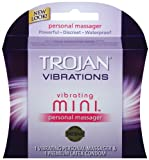Perfect for powerful & focused stimulation - Trojan Vibrating Mini Personal Massager - 1-count