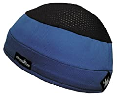 Distinct Name: BlueGender: Mens/UnisexColor: BlueSize: OSFMPrimary Color: BlueRated for temperatures and heat indexes from warm to hot. Combines the seamless contour superb sweat management of the Skull Cap with a 4-way stretch mesh top. 3 wi...
