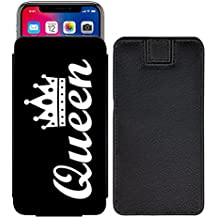 Queen Custom Designed Printed Pull Tab Pouch Phone Case Cover for ZTE Nubia Z17 miniS [S] - Queen01
