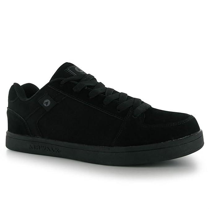 AirWalk Chadwick Men's Casual Skate Shoes, Black-Blue-Yellow
