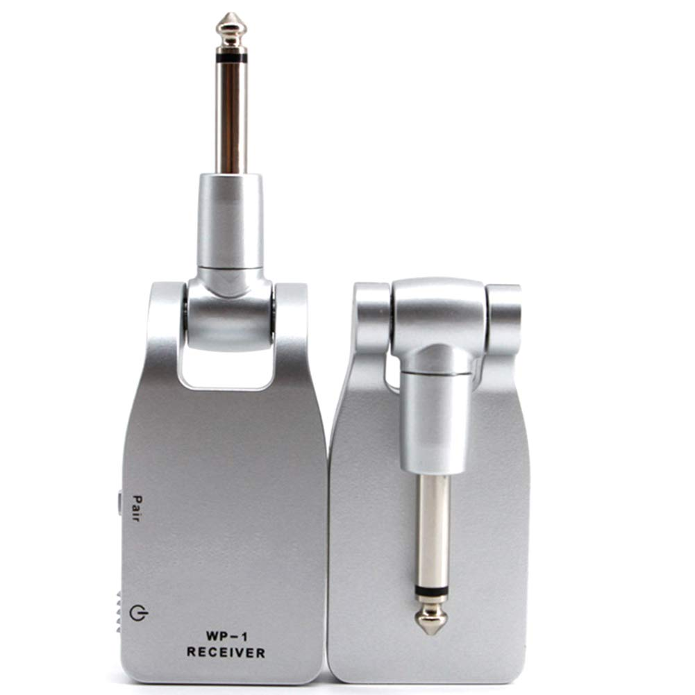 ZREAL 2.4G Batterie Rechargeable intégrée de récepteur de système de Guitare sans Fil