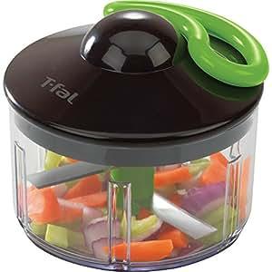 T-fal Ingenio Hand-Powered Rapid Food Chopper, Black