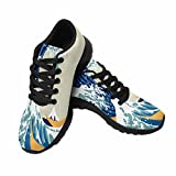 Best The Wave Jogging Shoes - InterestPrint Women's Jogging Running Sneaker Lightweight Go Easy Review