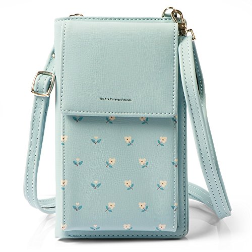 Bag Blue Purse Holder Cellphone with Crossbody Small Cell Card Wallet Strap Pouch Phone women SA5qHOxwB